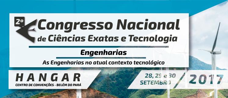 2º Congresso Nacional de Engenharias - Belém/PA