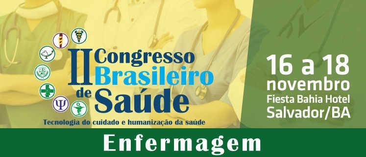 II Congresso Brasileiro de Enfermagem - Salvador/BA.