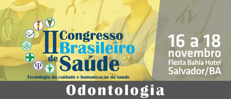 I Congresso Brasileiro de Odontologia - Salvador/BA.