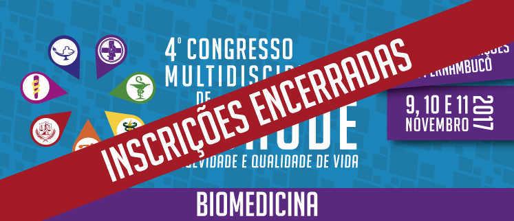 VII Simpósio Nacional de Biomedicina - Recife/PE