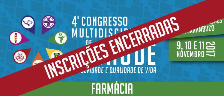 VII Congresso Nacional de Farmácia - Recife/PE