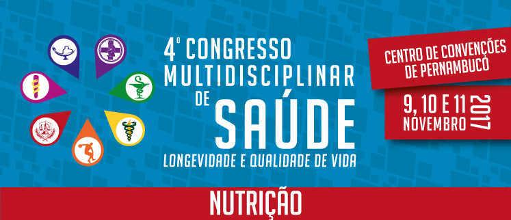 VIII Congresso Nacional de Nutrição - Recife/PE