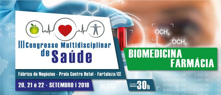 III Congresso Nacional de Biomedicina e Farmácia - Fortaleza/CE