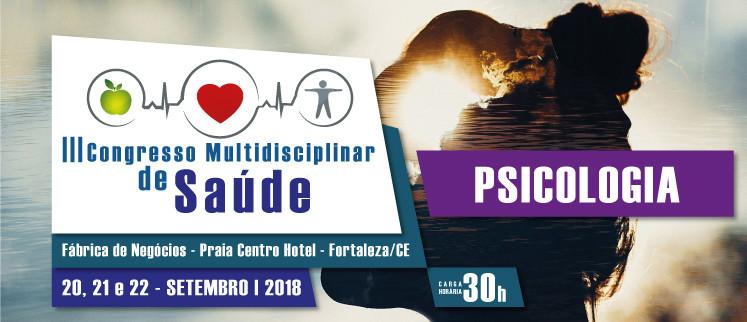 III Congresso Nacional de Psicologia - Fortaleza/CE