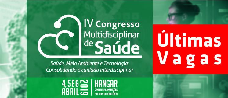 IV Congresso Multidisciplinar de Saúde - Belém/PA