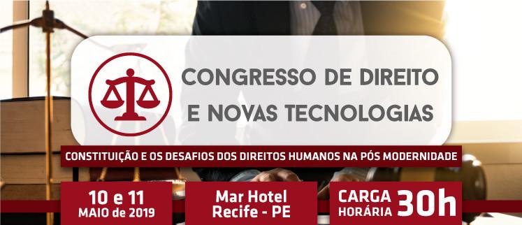 Congresso de Direito e Novas Tecnologias - Recife/PE