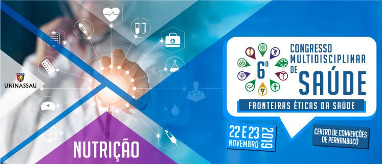 X Congresso Nacional de Nutrição - Recife/PE