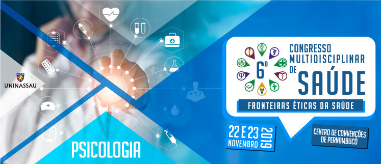 XI Congresso Nacional de Psicologia - Recife/PE.