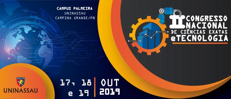II Congresso Nacional de Ciências Exatas e Tecnologia - C. Grande/PB