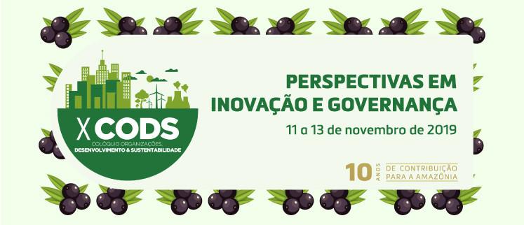 X CODS - Perspectiva em Inovação e Governança - Belém/PA
