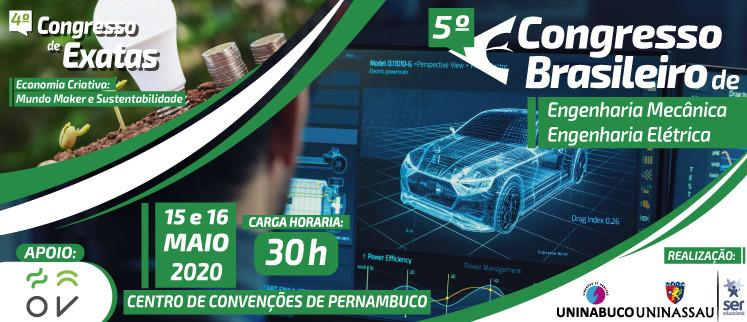 5º Congresso Brasileiro de Engenharia Mecânica e Elétrica - Recife/PE