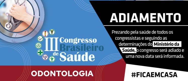 III Congresso Brasileiro de Odontologia - Salvador/BA