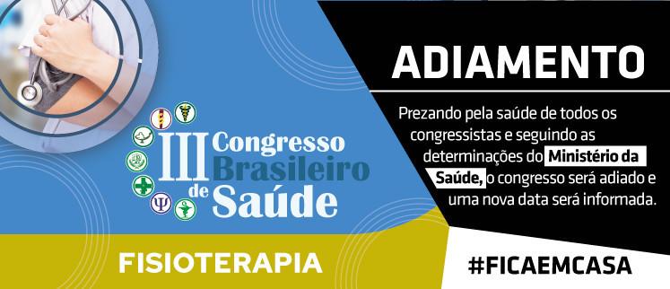 III Congresso Brasileiro de Fisioterapia - Salvador/BA