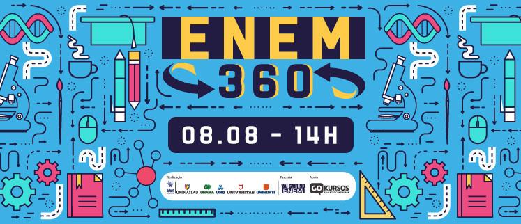 ENEM 360 - português, Química e Redação