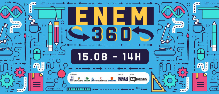 ENEM 360 - Literatura/Espanhol, Física e redação