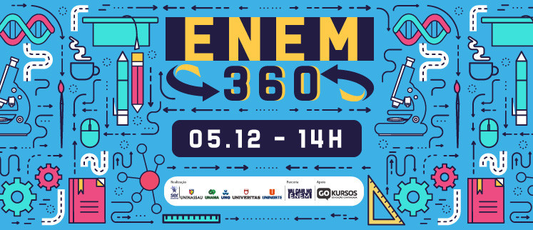ENEM 360 - Geopolítica e Atualidades, Sociologia e Redação