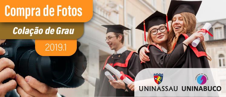 Fotos Colação de Grau - Uninassau | 2019.1