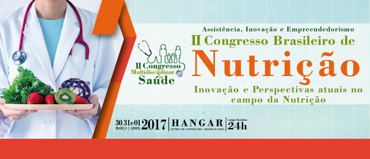 II Congresso Brasileiro de Nutrição (Belém)