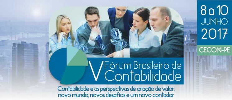 V Fórum Brasileiro de Contabilidade